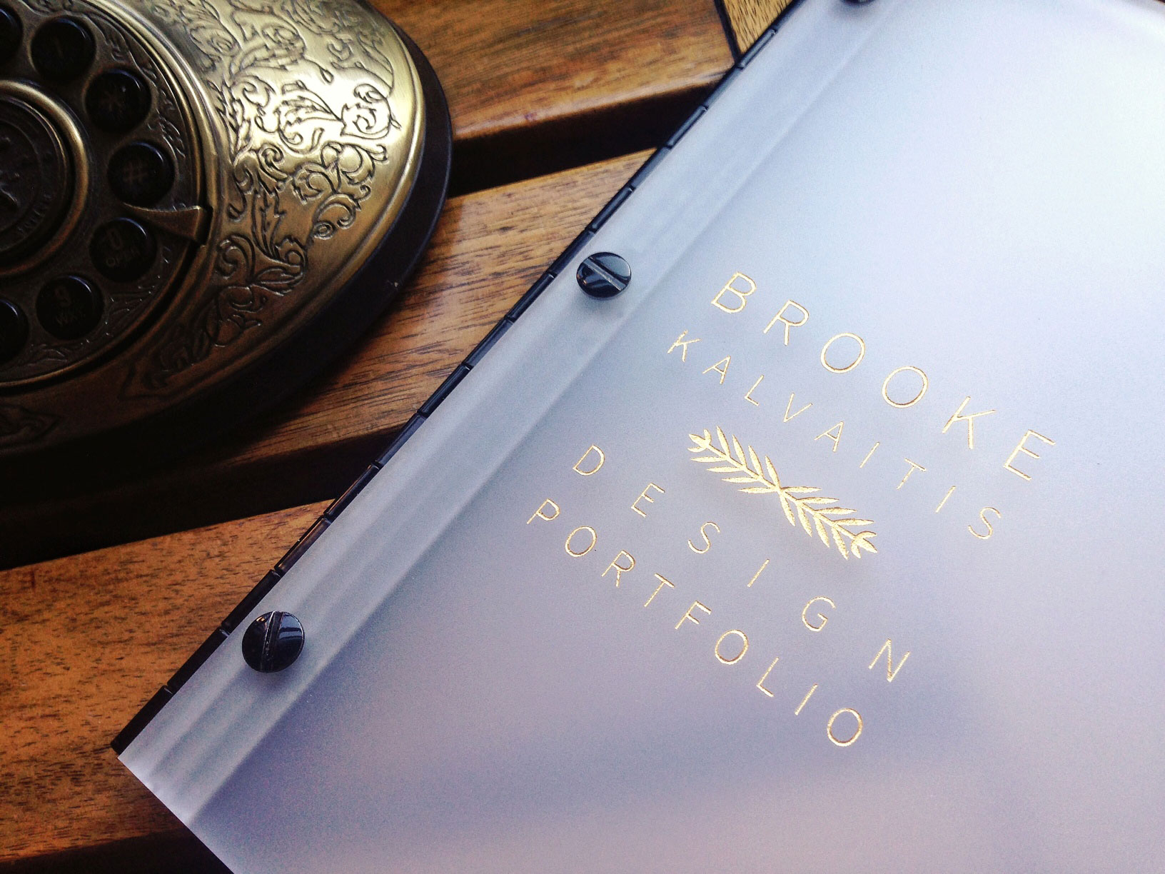 26 Awesome Custom Portfolio Book Examples with Color Fills