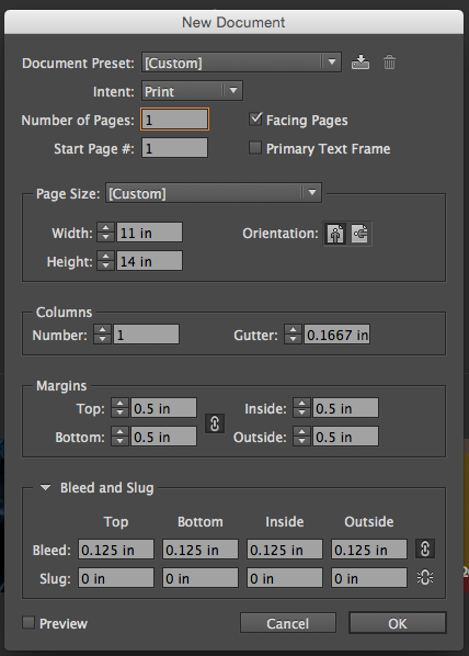 indesign-page-setup