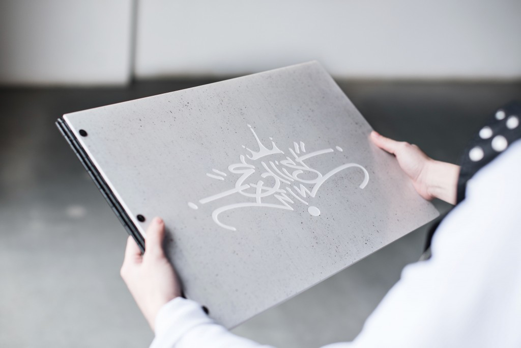 Custom-Made-Acrylic-Portfolio-book-Concrete